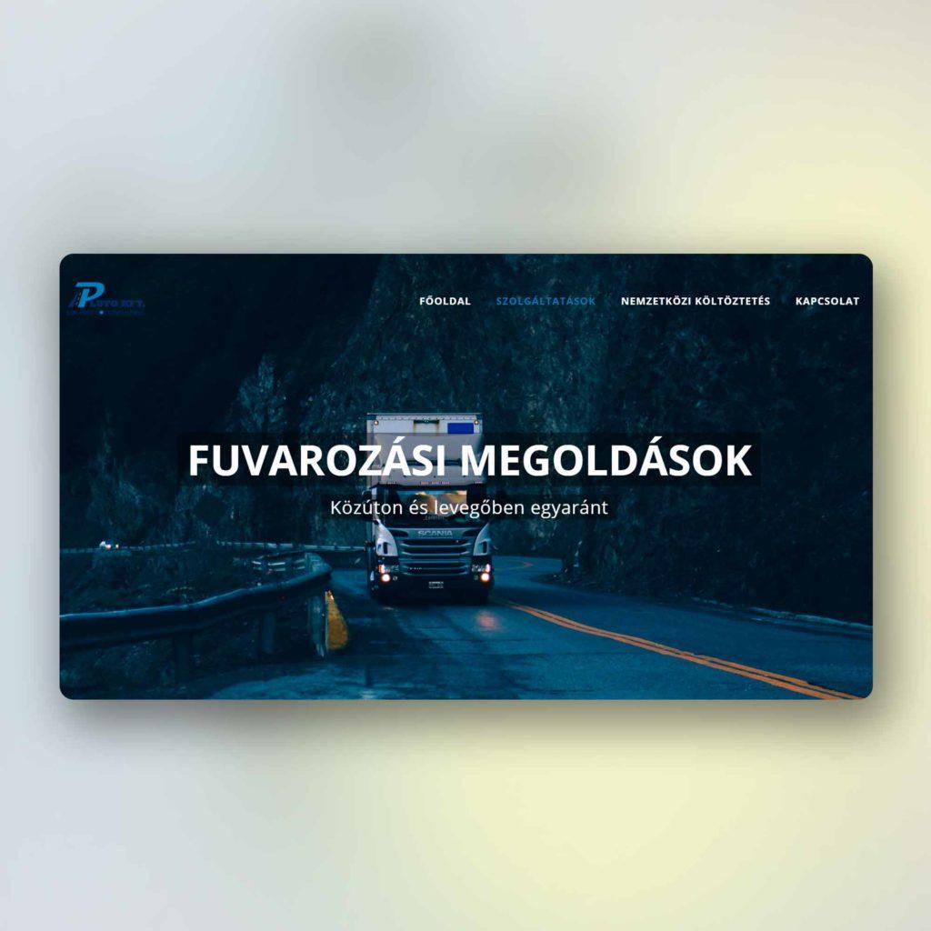 Weboldal | Pluto Kft.